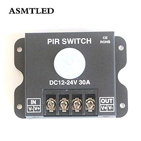 Amazon.com: Interruptor de sensor de movimiento de ...