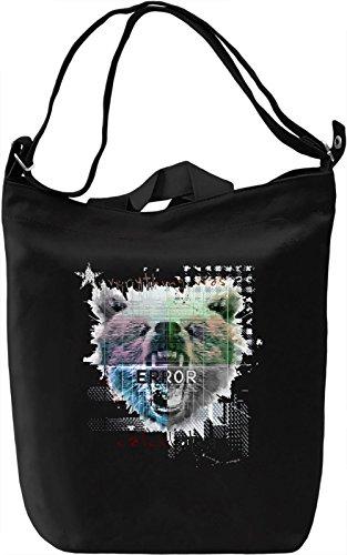 Error Borsa Giornaliera Canvas Canvas Day Bag| 100% Premium Cotton Canvas| DTG Printing|