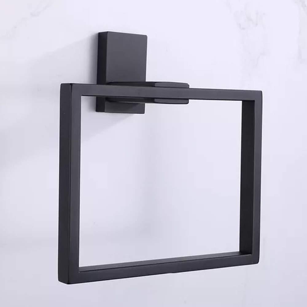 Ruddock XF73 Stainless Steel Black Matte Towel Ring Towel Holder Bathroom NuoBin Trade Co. Ltd