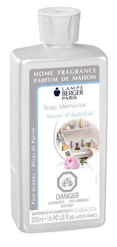 (Lampe Berger Fragrance - Soap Memories , 500ml / 16.9 fl.oz.)