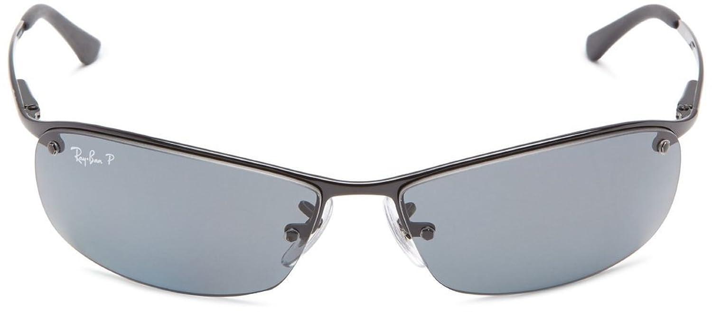 Amazon.com: Ray Ban RB3183 002/81 63mm Black/Polarized Gray Sunglasses Bundle-2 Items: Shoes