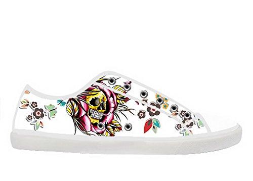 Men's White High Top Canvas Shoes Day of the Dead Canvas Shoes CORAL BLUE Sandales femme. Adidas Originals Tubular Shadow Knit Sneakers & Tennis Basses Homme. Chaussures Puma Tazon argentées homme KANNA Espadrilles femme. adIAL