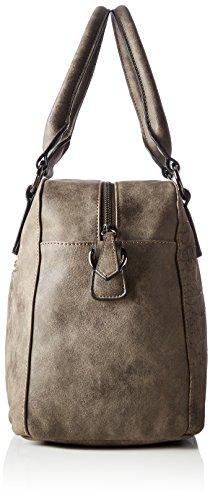 Betty Barclay Zip Bag - cartera Mujer Marrón (Chocolate)