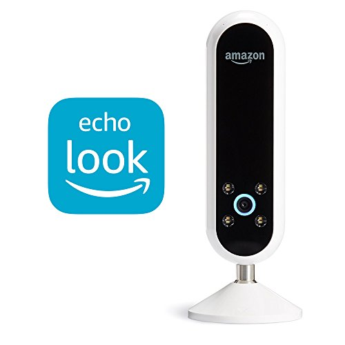 Echo Look | Hands-Free Camera and Style Assistant with Alexa-includes Style Check to get a second opinion on your outfit