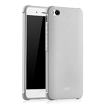 SMTR Xiaomi Mi5S Funda Silicona, Xiaomi Mi5S Funda Gel Suave TPU Case - Carcasa Resistente a los Arañazos para Xiaomi Mi5S -Blanco