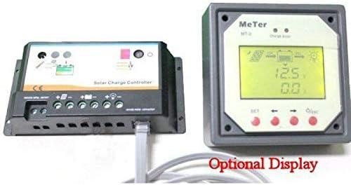 epever/® Regulador de Carga para 2/Varios bater/ía EPIPC com/ /20/A 12//24/V Duo Option MT1/pantalla