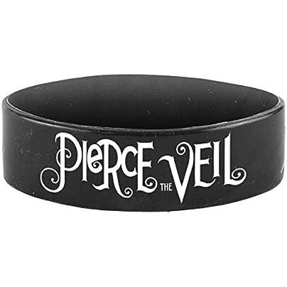 Pierce the Veil Selfish Machines PTV Wristband Black Estimated Price £4.00 -