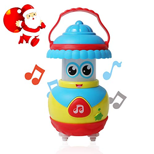 MEYUEWAL Music Toy for 12-18 Month+, Musical Instrument for Children Infant Toddler, Kids Early Learning Education Toy (Blue-Yellow)