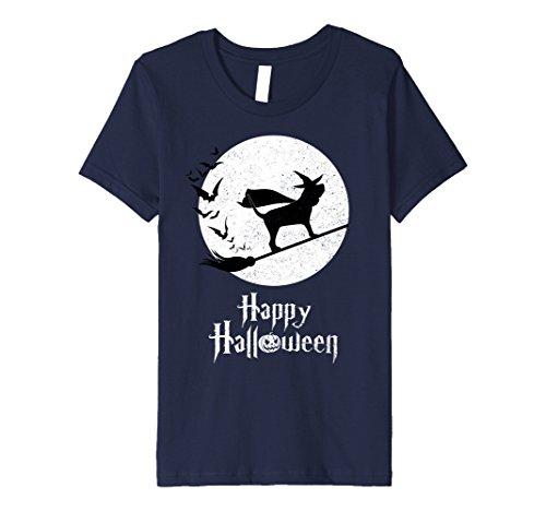 Kids Witch BLOODHOUND Dog Funny Halloween Costume T-Shirt 6 (Bloodhound Dog Costume)