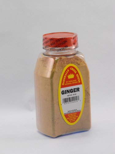 Ground Ginger Spice - Marshalls Creek Spices Ginger Ground, 6 Ounce