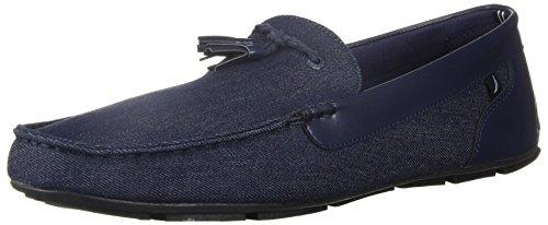 Nautica Men's Weldin Driving Style Loafer, Dark Denim, 8.5 Medium US
