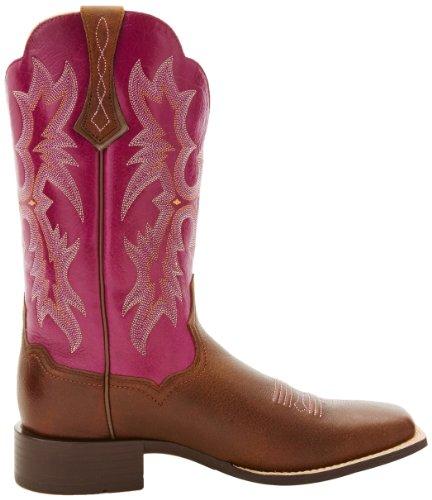 Ariat Womens Tombstone Wide Square Teen Western Cowboyboot Vintage Bomberjack