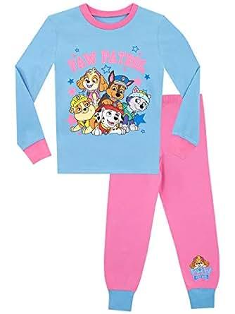Paw Patrol Pijamas de Manga Corta para niñas La Patrulla