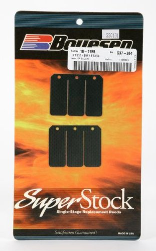 Boyesen Super Replacement Reeds Carbon for Yamaha YZ125 02-09 (Yz125 Reed)