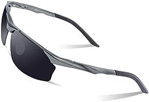 DUCO Polarisierte Sonnenbrille Herren für Radfahren Angeln Golf Unzerbrechlich 8513S
