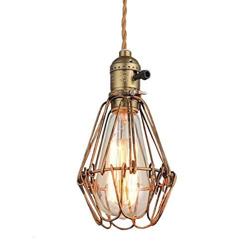 Lampe Cage Réglable Niuyao Loft Lustre Abat Suspension En Métal Jour K5ucTlF1J3