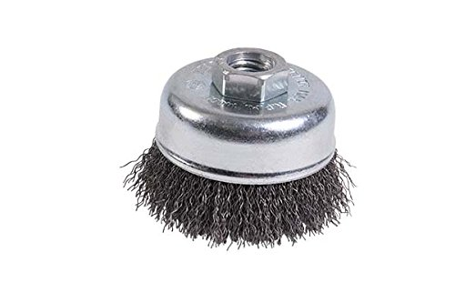 Mercer 188011B Premium Crimped Cup Brush 2-3/4'' x 5/8''-11 For Angle Grinders, 10-Pack by Mercer Industries (Image #1)