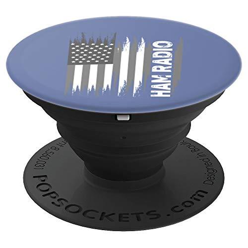 USA American Flag Amateur Ham Radio Art Gift