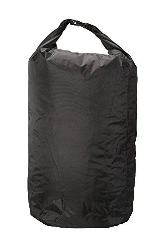 (Mountain Warehouse Medium Dry Pack Liner - 40L Waterproof Bag Black)