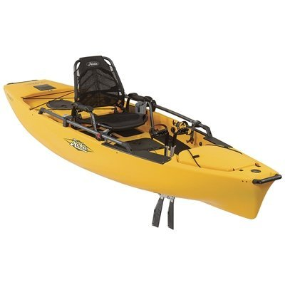 Hobie Mirage 180 Pro Angler 14 Kayak Golden Papaya