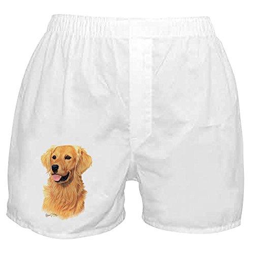 2cfdd503d8b CafePress – Golden Retriever – Novelty Boxer Shorts, Funny Underwear