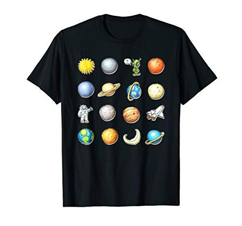 Costume Ideas Boys (Alien Halloween Planet Costume Space tshirt Gift)