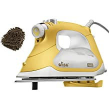 Oliso Smart Iron TG1600 with iTouch Technology Pro (Complete Set) w/ Gift: Premium Microfiber Cleaner
