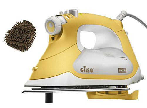 Oliso Smart Iron TG1600 with iTouch Technology Pro (Complete Set) w/ Gift: Premium Microfiber Cleaner by Oliso Smart