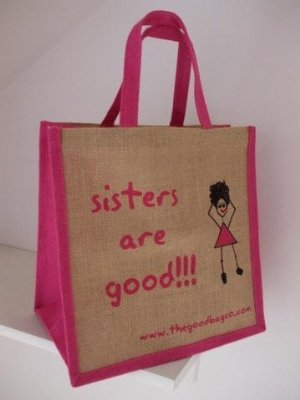 Sisters Are Good!!! - Lunch Shopping Bag  Amazon.co.uk  Kitchen   Home 22bee55cb603a