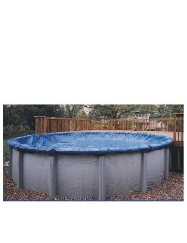 12x17 Blue Winter Oval Above Ground Swimming Pool Cover