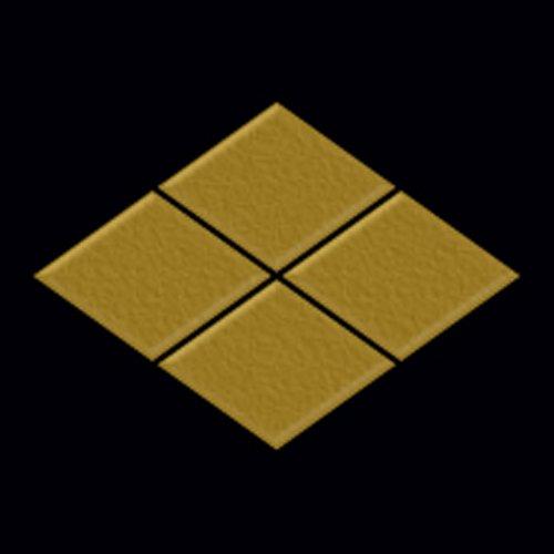 (General Family Crest Makie Seal 66. Takeda Mitsubishi/GD )