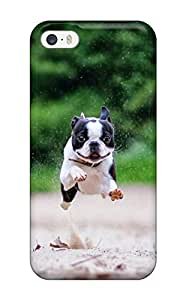 For Iphone Case, High Quality Boston Terrier Dog For Iphone 5/5s Cover Cases