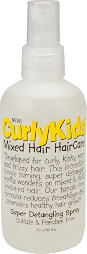 Curly Kids Super Detangling Spray, 6.0 oz (Pack of 3)