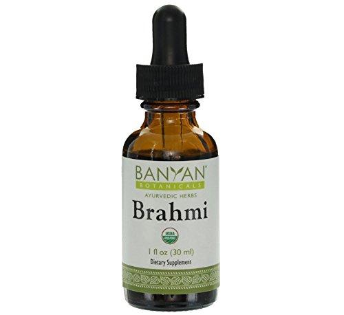 Banyan Botanicals Brahmi - Готу Кола жидкий экстракт - Органические, 1 унция