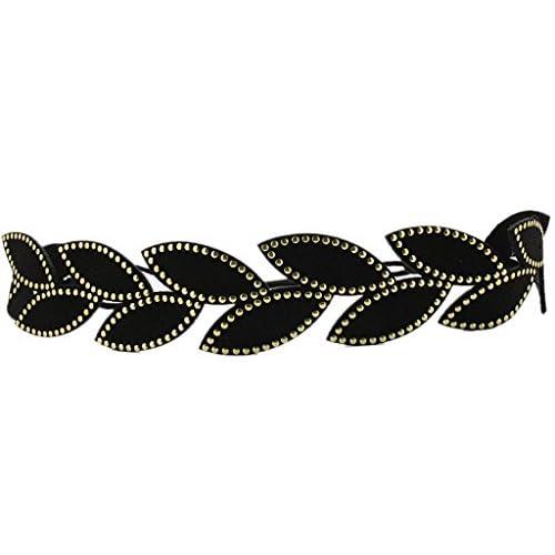 BONAMART Women Girls Nature Leaf Stylish Elastic Headband Hair Band Chain hot sale