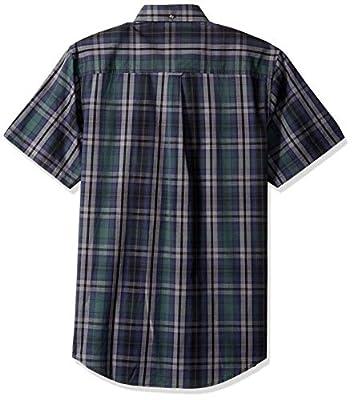 Ben Sherman Men's Ss End Plaid Shirt