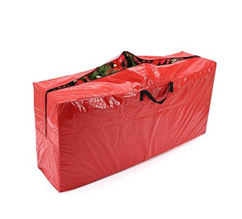 vencer red extra large christmas tree bag for 9 foot tree holidayvho 001 - Christmas Tree Containers