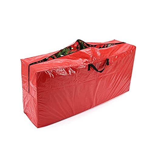 Vencer Red Extra Large Christmas Tree Bag For 9 Foot Tree Holiday,VHO 001