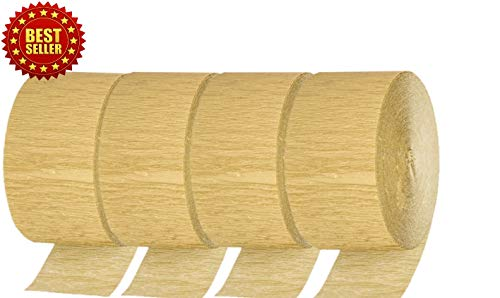 - Gold Crepe Paper Party Streamer Roll 81 Ft. Long Flip and Flop Easy to Decorate (2, 4, 6, 8, 10, Packs Available) (4)