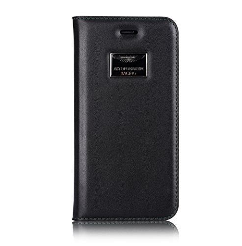 Aston Martin Luxury Etui folio pour iPhone 6 Plus Noir