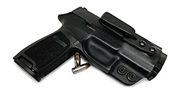 Concealment Express Tuckable IWB KYDEX Holster fits: Sig Sauer P320 (CF  BLK, ULTI) - Ambidextrous - Adjustable Cant & Ride Height - US Made