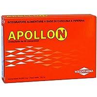 Wikenfarma Apollon Integratore Alimentare a base di Curcuma e Piperina - 30 Compresse