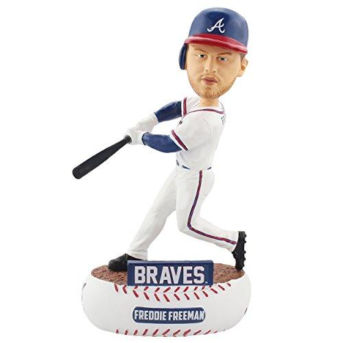 (Forever Collectibles Freddie Freeman Atlanta Braves Baller Special Edition Bobblehead MLB)