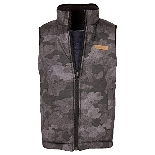 David Bitton Buffalo Boys Reversible Vest (Camo, Small-7/8)