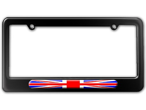 UK Flag United Kingdom - British Flag License Plate Tag Frame