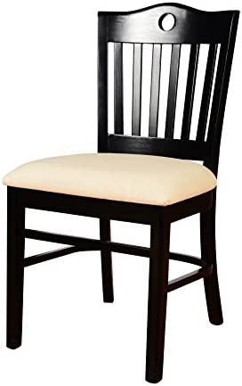 Beechwood Mountain BSD-30S-B Solid Beech Wood Side Chair