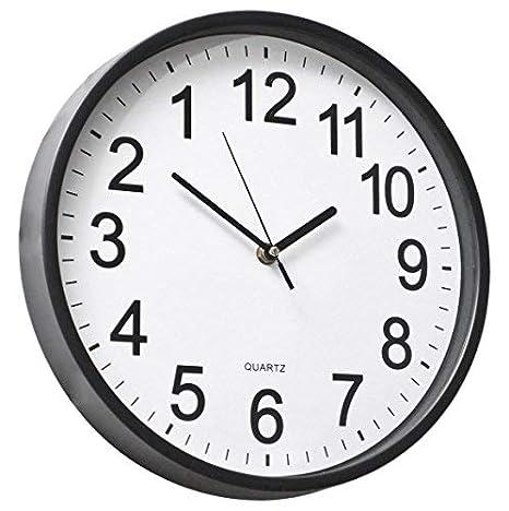 Backwards clock runs counter clockwise novelty