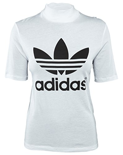 Adidas Berlin Trefoil High-Neck Tee Womens Style: AB2670-WHT Size: XL