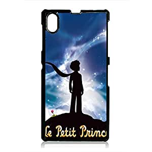 The Little Prince Phone Case Le Petit Prince Sony Xperia Z1 Phone Case Fashionable Black Phone Case The Little Prince Sony Xperia Z1 Phone Case 238