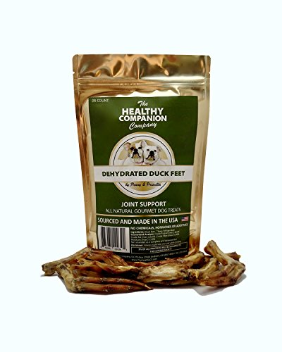 Dehydrated Duck Feet, Dog Treats - 25 count